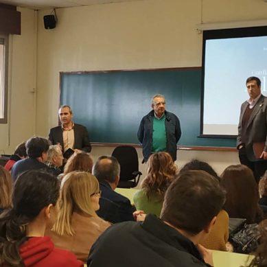 """Narváez: """"no voy a luchar contra la universidad privada sino que voy a trabajar por la Universidad Pública"""""""