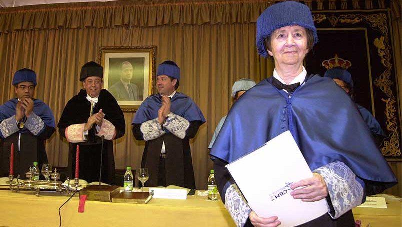 Las universidades se suman al dolor por el fallecimiento de Margarita Salas