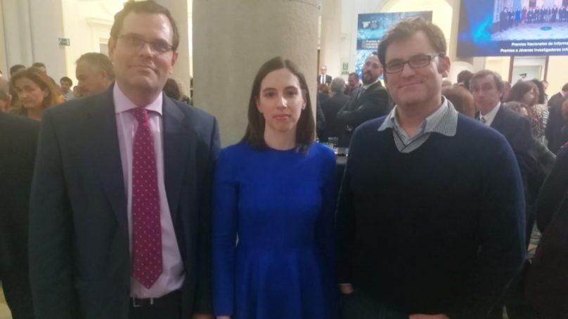 La investigadora Aurora Ramírez recibe uno de los Premios de Investigación de la Sociedad Científica Informática de España