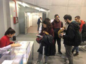 Elecciones en la UMA: una primera mañana tranquila en las urnas