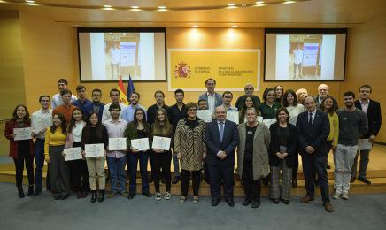 El Ministerio de Ciencia, Innovación y Universidades ha hecho entrega de los premios de Investigación del Certamen Universitario Arquímedes