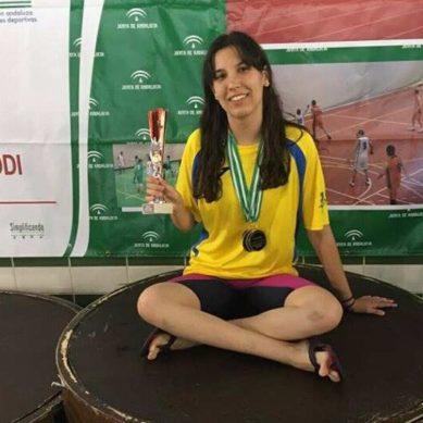La nadadora almeriense Rosana Vita aspira a ser olímpica en 2024