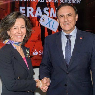 5.100 nuevas Becas Erasmus gracias a la CRUE y el Banco Santander