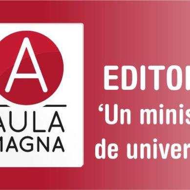 Un ministerio de universidad