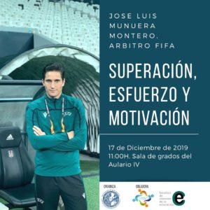 Conferencia de José Luis Munuera Montero