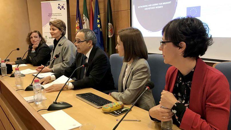 La UJA presenta el Proyecto Net-Care, de ayuda a personas inmigrantes que sufren violencia de género