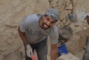 José Santiago Rodríguez, proyecto arqueología Egipto