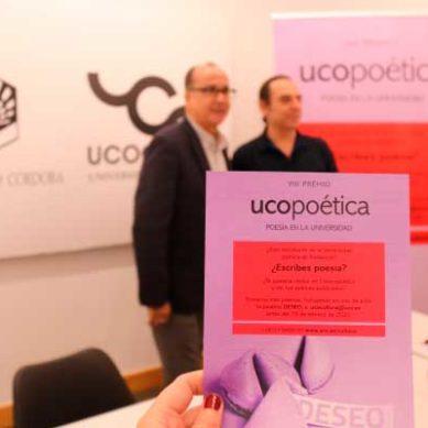 La Universidad de Córdoba convoca la VIII edición del premio UCOpoética