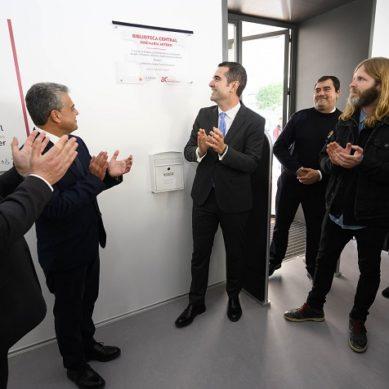 La Biblioteca Central 'José María Artero' abre sus puertas oficialmente