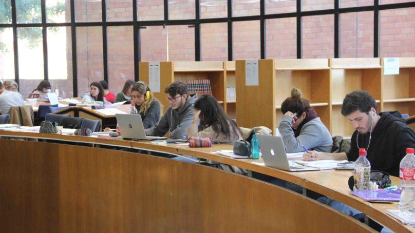 Horarios de biblioteca en la Universidad de Málaga
