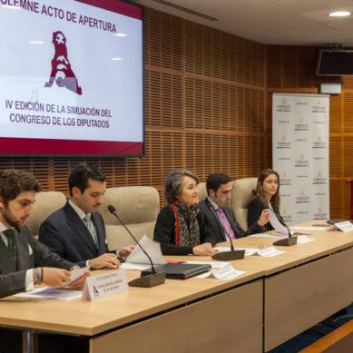 Diálogo, concordia y debate en la Simulación del Congreso de los Diputados