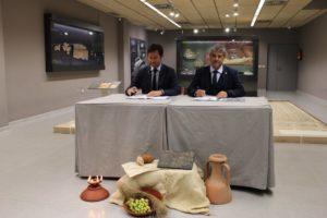Firma del convenio UAL-El Ejido