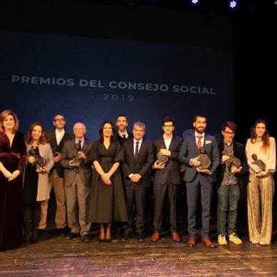 Reconocimiento a la excelencia en los Premios del Consejo Social UAL 2019
