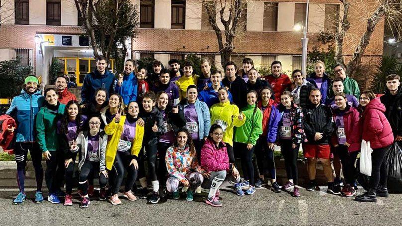 Espíritu solidario en la Carrera de San Antón