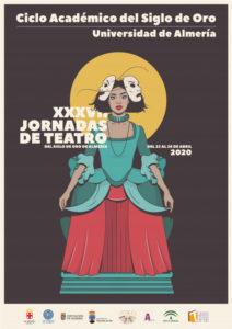 Cartel de las XXXVII Jornadas de Teatro del Siglo de Oro
