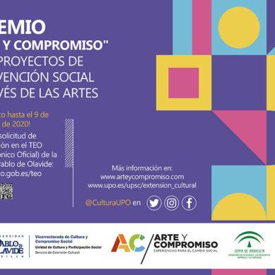 La UPO convoca el I Premio Arte y Compromiso para Proyectos de Intervención Social a través de las Artes