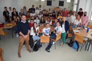 Participantes en anteriores ediciones del Aula de Debate y Expresión Oral de la UAL