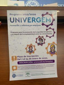 Cartel del programa UNIVERGEM