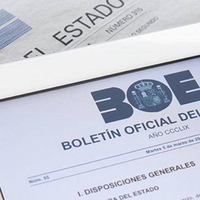 Convocadas becas de formación en la Agencia Estatal Boletín Oficial del Estado
