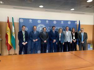 Participantes en la mesa sobre la Cátedra de Turismo Sostenible de la UAL