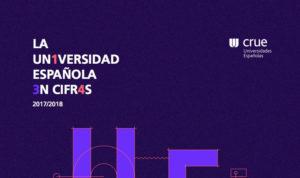 """XII informe """"La Universidad Española en Cifras. Año 2017 y curso académico 2017/2018"""""""