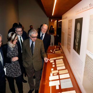 La Fundación Unicaja organiza en Málaga una exposición con fondos de los hermanos Machado