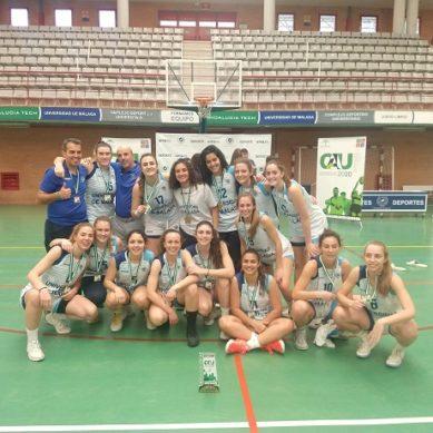 Las chicas de la UMA ganan el oro del CAU2020 Baloncesto Femenino