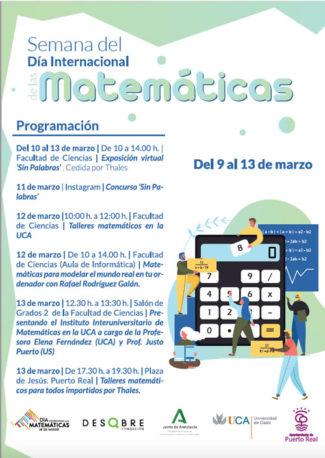 El Día Internacional de las Matemáticas llena la UCA de actividades