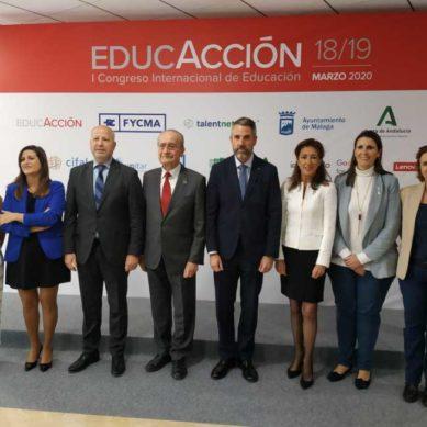 Málaga acogerá el mayor congreso sobre estrategias y futuro de la educación