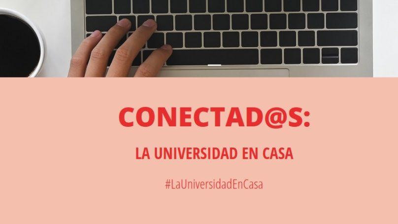 La plataforma Conectad@s de la CRUE y el Ministerio lleva la universidad a casa