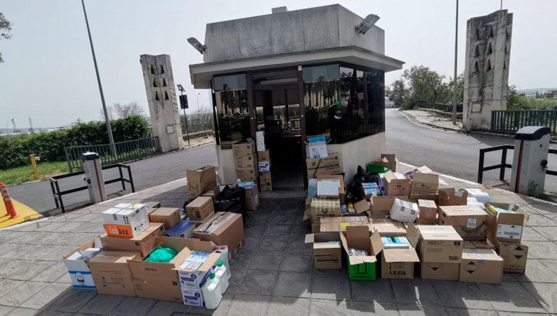 La Universidad de Córdoba pone a disposición de las autoridades todo el material sanitario de sus centros y departamentos