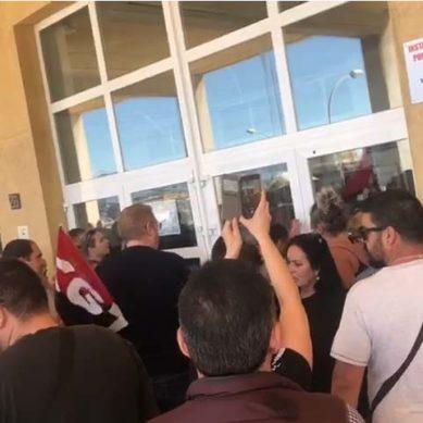 Convenios dignos y adecuación de los salarios: la huelga de limpieza continúa en la UMA