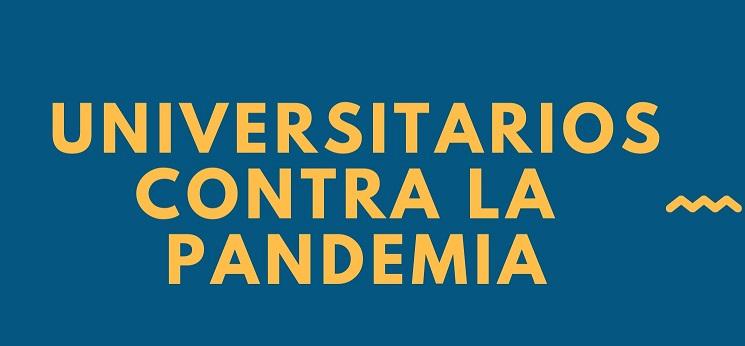 Universitarios contra la pandemia, una iniciativa educativa solidaria