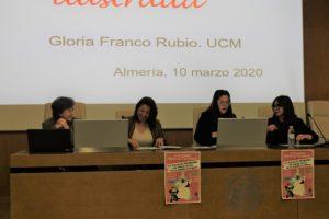 Conferencia de Gloria Franco Rubio en la UAL