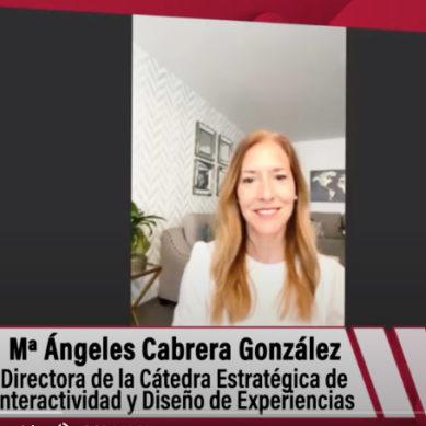 """Ángeles Cabrera: """"La docencia presencial no es posible sustituirla por lo digital"""""""
