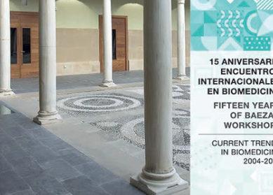 La UNIA publica un libro conmemorativo del 15 aniversario de los workshops internacionales sobre Biomedicina