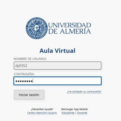 La plataforma de docencia online de la UAL registra cerca de 25.000 visitas diarias