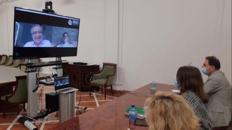 La UMA y la Junta de Andalucía se reúnen para abordar las acciones con las que se intenta combatir el coronavirus