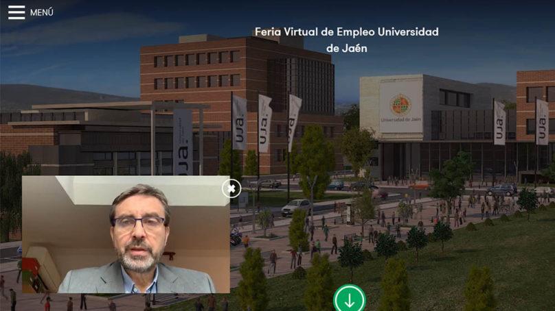 Ochocientos estudiantes y titulados de la UJA participan en la Feria Virtual de Empleo