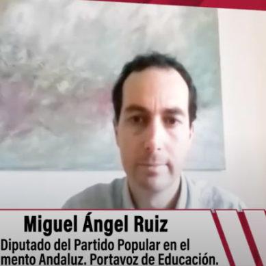 """Miguel Ángel Ruiz: la selectividad va a ser un """" examen adaptado a las circunstancias"""""""