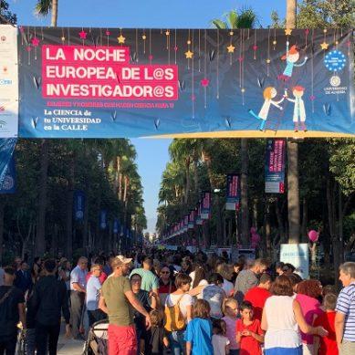 La divulgación científica como referente de la UAL en la Noche Europea de los Investigadores 2020