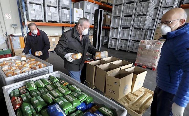 La UNIA y el Banco de Alimentos, juntos por una buena causa