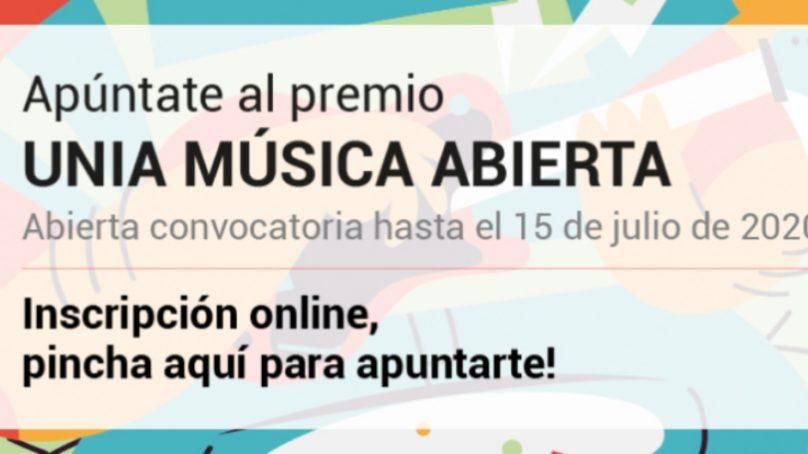Abierto el plazo para el Premio UNIA Música Abierta