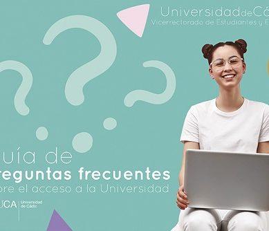 Presentada la guía UCA de Preguntas Frecuentes sobre el Acceso a la Universidad