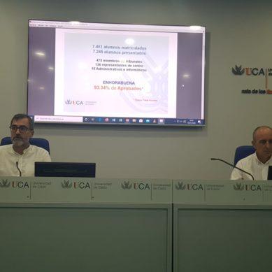 El 93,34% del alumnado aprueba en julio la PEVAU en Cádiz
