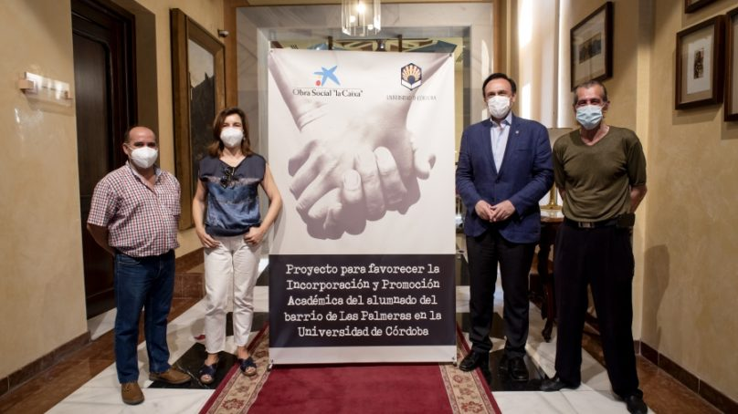 La UCO recauda más de 11.000 euros para ayuda alimentaria de emergencia para el barrio de Las Palmeras