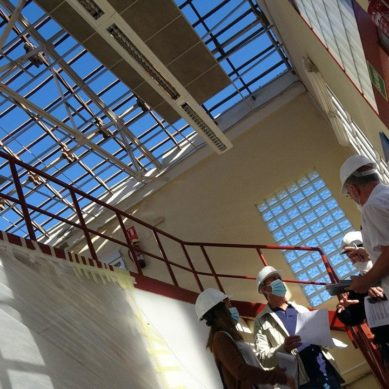 La UHU pone fin a los problemas de filtraciones de dos importantes edificios del Campus de El Carmen