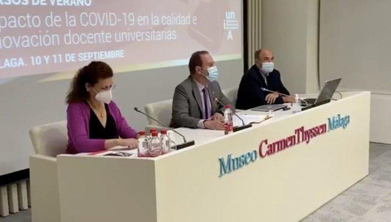 La UNIA inaugura un foro sobre el impacto de la Covid-19 en la calidad universitaria