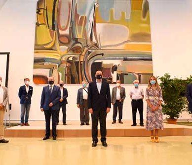 La Universidad de Córdoba recupera y reubica una importante obra del artista Javier Clavo