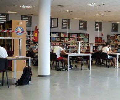 La Biblioteca UAL reabre con aforo limitado y nuevas medidas sanitarias